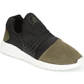 Skor Herr Sneakers Asfvlt AREA LOW Svart / Kaki