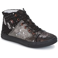 Skor Flick Boots Catimini ROUSSEROLLE Svart / Mässingsfärg