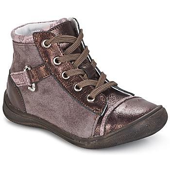 Skor Flickor Boots GBB ROMIE Rosa / Bordeaux