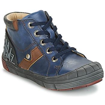 Skor Pojk Höga sneakers GBB RENOLD Marin