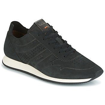 Skor Herr Sneakers Hugo Boss Orange ADRENAL RUNN Svart