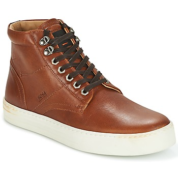 Skor Herr Höga sneakers Hugo Boss Orange NOIR HALB LTWS Cognac