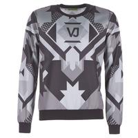 textil Herr Sweatshirts Versace Jeans B7GQA7F5 Svart / Grå