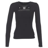 textil Dam Blusar Versace Jeans B2HQA732 Svart