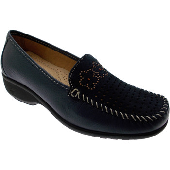 Skor Dam Loafers Calzaturificio Loren LOK3971bl blu
