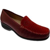 Skor Dam Loafers Calzaturificio Loren LOK3971ro rosso