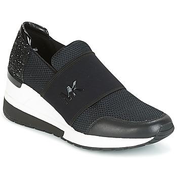 Skor Dam Sneakers MICHAEL Michael Kors FELIX TRAINER Svart