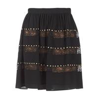 textil Dam Kjolar MICHAEL Michael Kors HT/ LACE MIX Svart