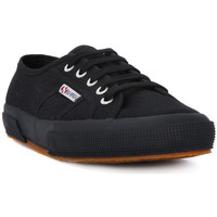 Skor Dam Sneakers Superga COTU FULL BLACK CLASSIC Nero