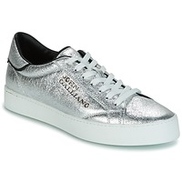 Skor Herr Sneakers John Galliano FIUR Silver