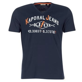 textil Herr T-shirts Kaporal MAKAO Marin