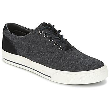 Skor Herr Sneakers Ralph Lauren VAUGHN Grå