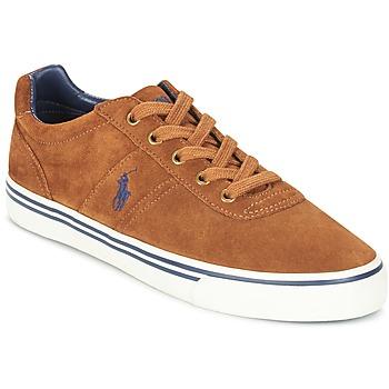 Skor Herr Sneakers Ralph Lauren HANFORD Cognac