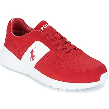 Skor Herr Sneakers Ralph Lauren CORDELL Röd