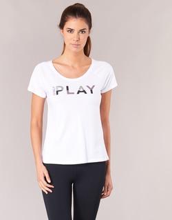 textil Dam T-shirts Only Play LINDA Vit