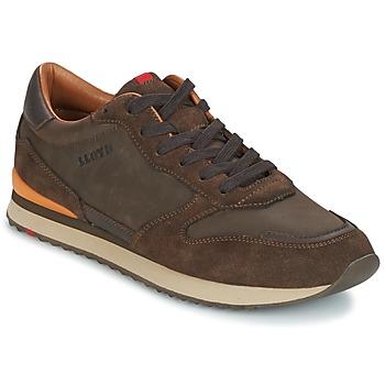 Skor Herr Sneakers Lloyd EDWIN Brun