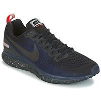 Skor Herr Löparskor Nike AIR ZOOM PEGASUS 34 SHIELD Svart / Blå