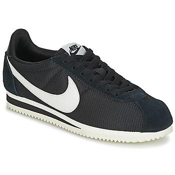 Skor Dam Sneakers Nike CLASSIC CORTEZ NYLON W Svart / Vit