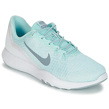 Skor Dam Fitnesskor Nike FLEX TRAINER 7 REFLECT W Vit / Grön