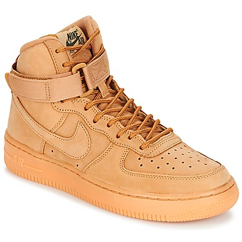 Skor Barn Höga sneakers Nike AIR FORCE 1 HIGH WB GRADE SCHOOL Honung