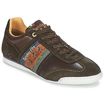Skor Herr Sneakers Pantofola d'Oro IMOLA UOMO LOW Brun