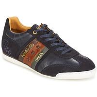 Skor Herr Sneakers Pantofola d'Oro IMOLA UOMO LOW Blå