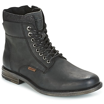 Skor Herr Boots Levi's EMERSON COLLAR Svart