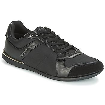 Skor Herr Sneakers Versace Jeans TERU Svart