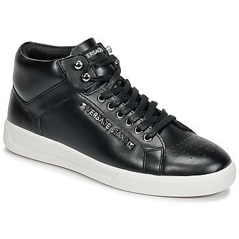 Skor Herr Höga sneakers Versace Jeans TERMI Svart