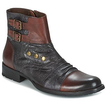 Skor Herr Boots Kdopa BOMBAY Brun