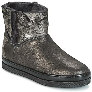 Skor Flickor Boots Unisa FIS Silver