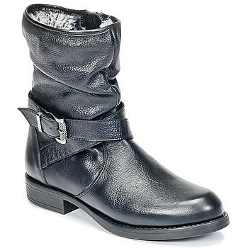 Skor Flickor Boots Unisa GADIN Svart