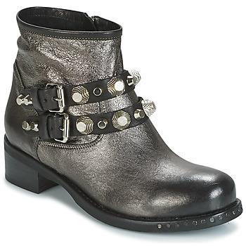 Skor Dam Boots Mimmu BERLO Silverfärgad