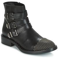 Skor Dam Boots Meline PESCINO Svart