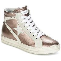 Skor Dam Höga sneakers Meline POLARE Brons