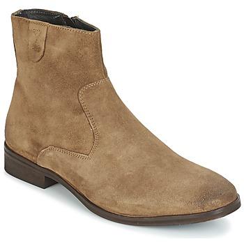 Skor Herr Boots Frank Wright EDISON Beige