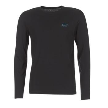 textil Herr Långärmade T-shirts Oxbow TEITH Svart