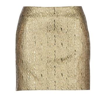 textil Dam kjolar See U Soon FASOU Guldfärgad