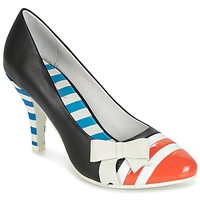 Skor Dam Pumps Lola Ramona STILETTO Svart / Orange / Vit