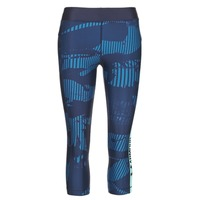 textil Dam Leggings Under Armour UA HG ARMOUR GRAPHIC CAPRI Blå
