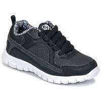 Skor Pojk Sneakers Freegun FG VINO Svart