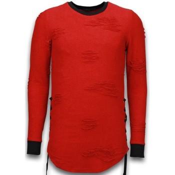 textil Herr Sweatshirts Justing  Röd