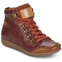 Skor Dam Höga sneakers Pikolinos LISBOA W67 Brun
