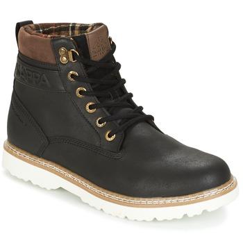 Skor Herr Boots Kappa WHYMPER Svart / Brun