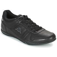 Skor Herr Sneakers Kappa PARHELIE Svart / Grå