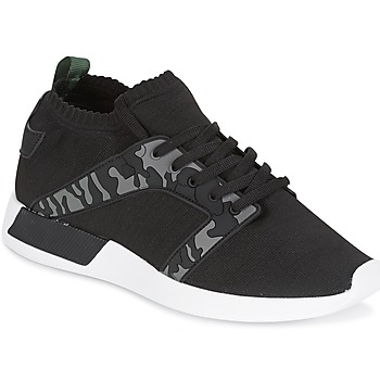 Skor Herr Sneakers Cash Money ARMY Svart / Kaki