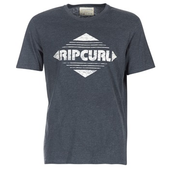 textil Herr T-shirts Rip Curl BIG MAMA DIAMOND Svart