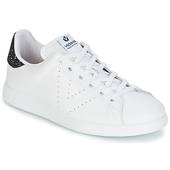 Skor Dam Sneakers Victoria DEPORTIVO BASKET PIEL Vit / Blå