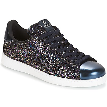 Skor Dam Sneakers Victoria DEPORTIVO BASKET GLITTER Marin