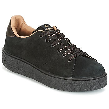 Skor Dam Sneakers Victoria DEPORTIVO SERRAJE P. NEGRO Svart